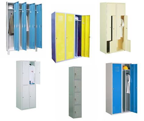 meble metalowe szafy socjalne kami